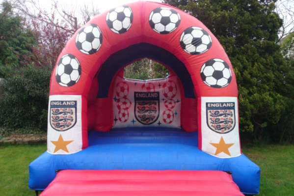 England Bouncy Castle large 3