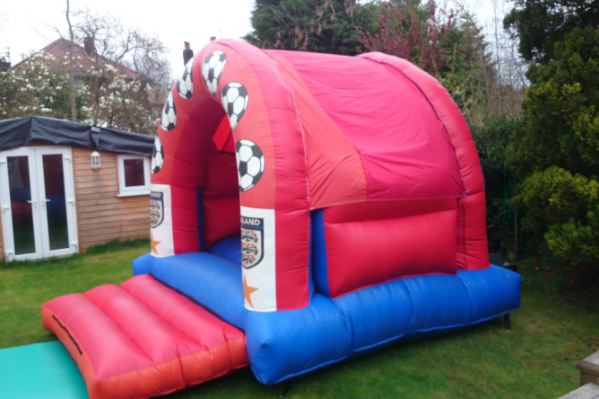England Bouncy Castle large 1