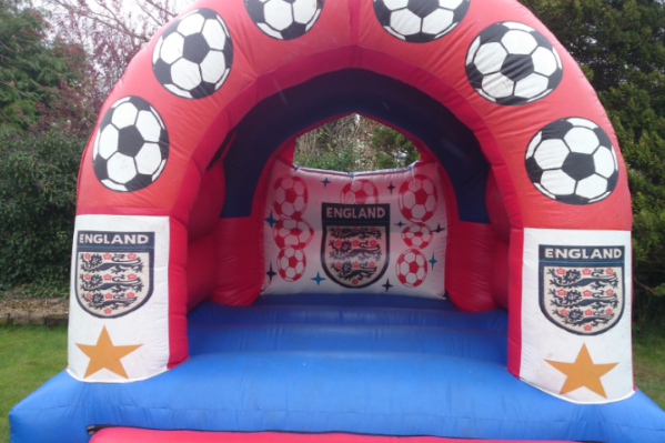 England Bouncy Castle large 9
