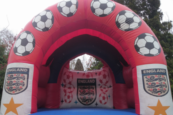 England Bouncy Castle large 7