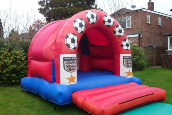 England Bouncy Castle large 8
