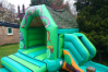 Jungle Combi Bouncy Castle small 2