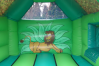 Jungle Combi Bouncy Castle small 9