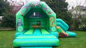 LINK TO JUNGLE BOUNCY CASTLE WITH SLIDE HIRE