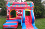 link to mickey's clubhouse bouncy castle hire