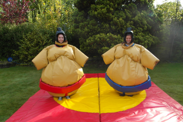 Sumo Suits bouncy castle hire small 3