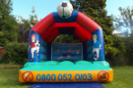 LINK TO FOOTBALL BOUNCY CASTLE HIRE