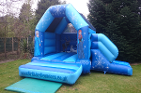 LINK TO FROZEN CASTLE WITH SLIDE HIRE