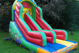 link to jungle inflatable slide hire