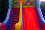 link to inflatable mega slide hire