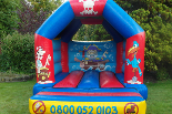 link to pirate bouncy castle hire