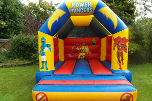 link to power rangers bouncy castle hie