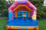 link to princess bouncy castle hire