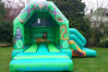 Jungle Combi Bouncy Castle small 1