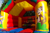 Jungle bouncy castle small 10