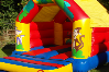 Jungle bouncy castle small 2