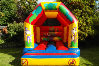 Jungle bouncy castle small 3