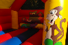 Jungle bouncy castle small 9