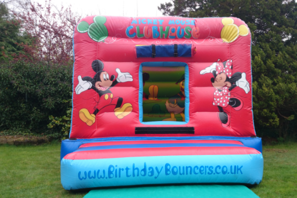 Mickeys den Bouncy Castle large 3