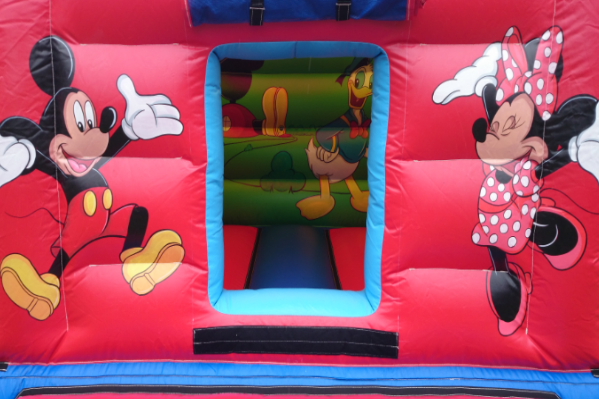 Mickeys den Bouncy Castle large 2