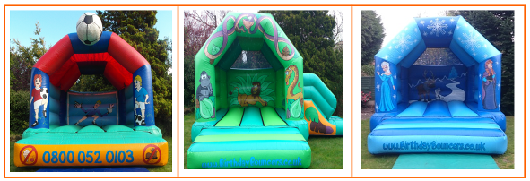 link 1 to children bouncy castle hire