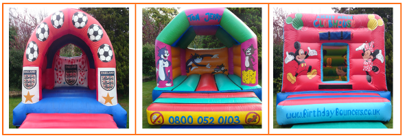 link 2 to children bouncy castle hire