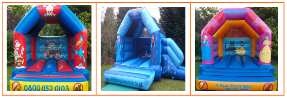 link 4 to children bouncy castle hire