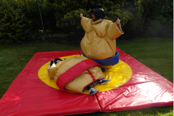 Sumo Suits bouncy castle hire small 1